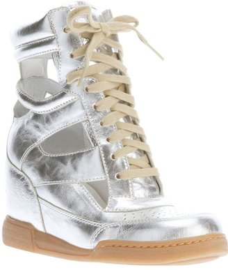 Marc by Marc Jacobs cut-out wedge sneaker