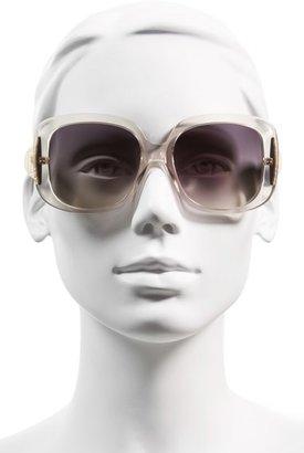 Christian Dior 'Ladylady' 56mm Sunglasses