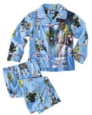 Favorite Characters Star Wars Lego® Infant Toddler Boys Long-Sleeve Pajama Coat Set - Blue