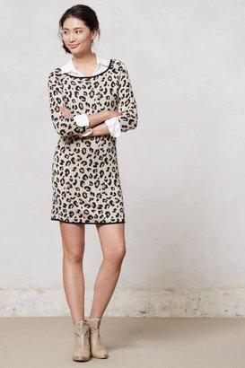 Anthropologie Leopardo Sweater Dress
