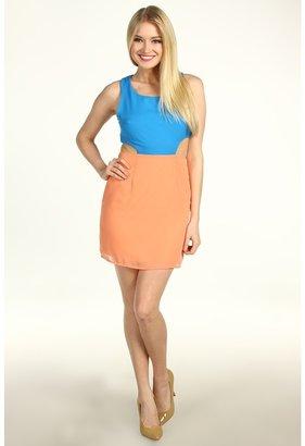 Type Z Mika Dress (Peach/Lavender) - Apparel