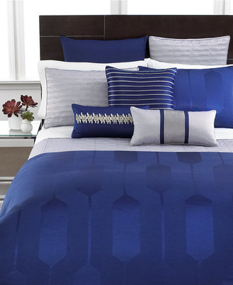 Hotel Collection CLOSEOUT! Links Cobalt King Duvet Cover