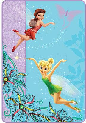 "Franco Mfg Disney Fairies ""Fairy Friends"" Twin Blanket"