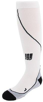 CEP Running Progressive Compression Socks (White) - Footwear