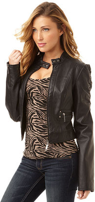 Therapy Black Ruched Jacket