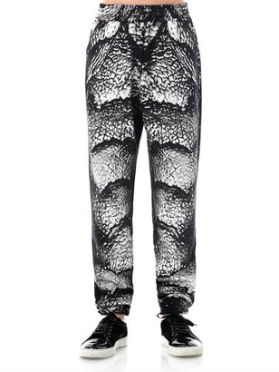 Christopher Kane Creature of the Black Lagoon-print pants