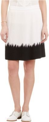 A.L.C. Dip-Dyed Pleated Bruce Skirt