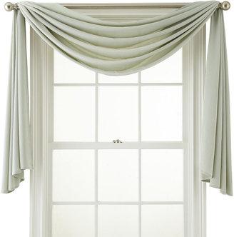ROYAL VELVET Royal Velvet Ally Window Scarf Valance $70 thestylecure.com