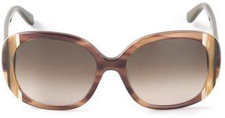 Salvatore Ferragamo oval sunglasses
