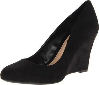 Jessica Simpson Women's Cash Wedge Pump,Black,9 M US