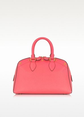 MCM First Lady - Small Leather Boston Bag