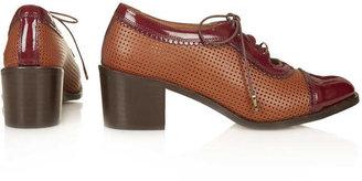 Topshop JEMIMA Scallop Lace Up Shoes