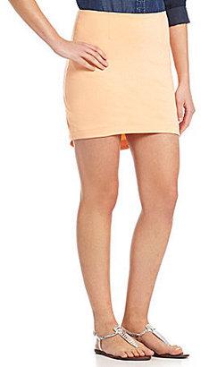 BCBGeneration Asymmetric Mini Skirt