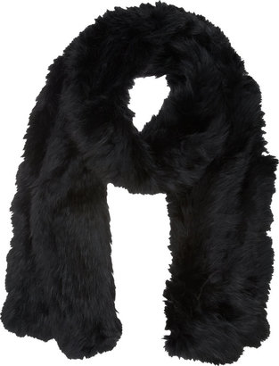 Barneys New York Fur Muffler