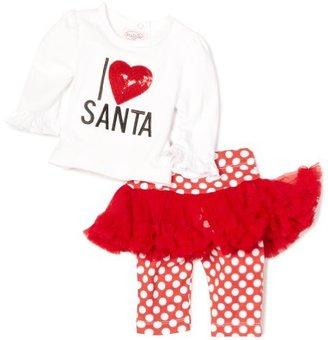 Mud Pie Baby-girls Infant I Love Santa Play Set