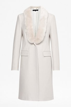 French Connection Queen Coating Classic Coat