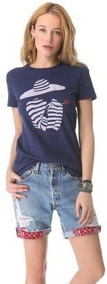 WGACA What goes around comes around Rose T-Shirt