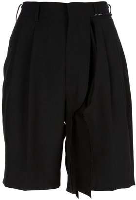 Comme des Garcons high-waisted shorts