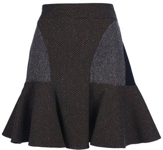 Stella McCartney paneled skirt