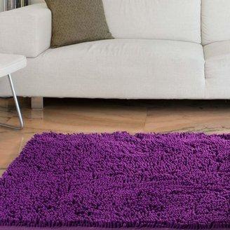 Trademark Global Lavish Home High-Pile Shag Rug Carpet - 21