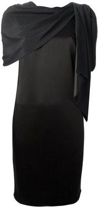 Kenzo draped panel dress