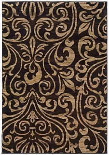 StyleHaven Everleigh Damask Scrolls Area Rug