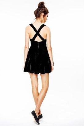 For Love & Lemons Pirouette Dress in Black