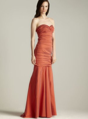 Theia Stretch Stapless Gown