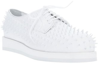 Forfex 'Capocchia nail' lace up shoe