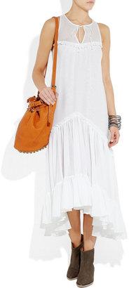 Thomas Wylde Shroud cotton and silk-blend dress