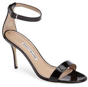 Women's Manolo Blahnik 'Chaos' Ankle Strap Sandal $725 thestylecure.com