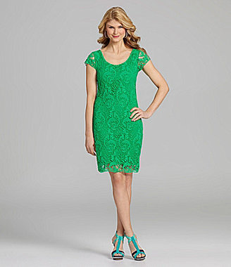 Antonio Melani Daphne Crochet-Lace Dress