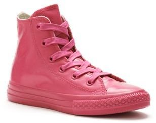 Kid's Converse All Star Rubber High-Top Sneakers $45 thestylecure.com