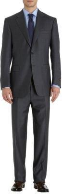 """Canali Men's """"C Soft"""" Suit-Grey"""