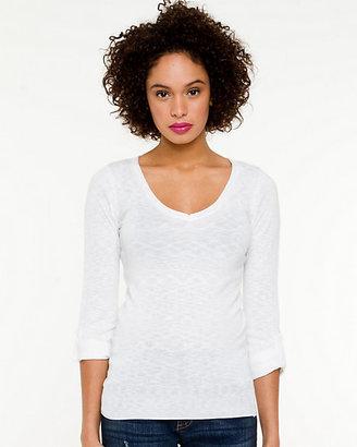 Le Château Knit V-Neck Sweater