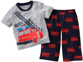 Carter's fire engine pajama set - toddler