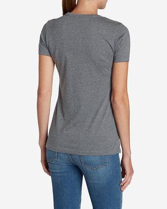 Eddie Bauer Women's Graphic Tri-Blend Crewneck T-Shirt - Lab Flag