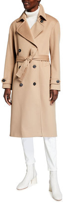 Fleurette Wool Trench Coat