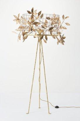 Anthropologie Vertical Garden Lamp