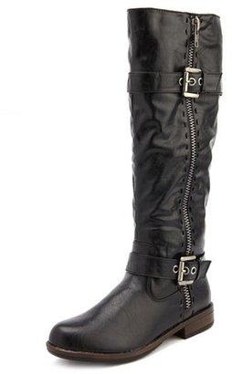 Charlotte Russe Side-Zip Knee-High Boot