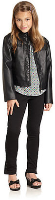 Hartstrings KC Parker by Girl's Pleather Jacket