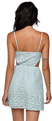 Kylie Minogue Kendall & Kylie Crochet Lace Dress