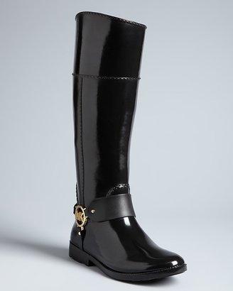 MICHAEL Michael Kors Tall Logo Riding Rain Boots - Fulton Harness