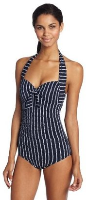Seafolly Women's Coastline Soft-Cup One Piece Swimsuit