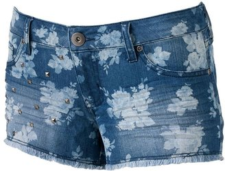 Mudd floral studded cut-off shorts - juniors