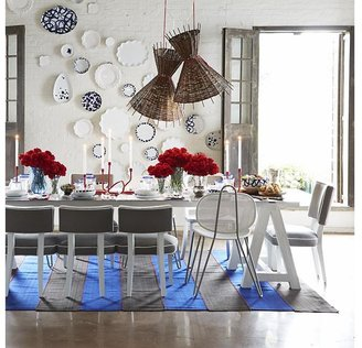 Crate & Barrel Como Sawhorse Dining Table