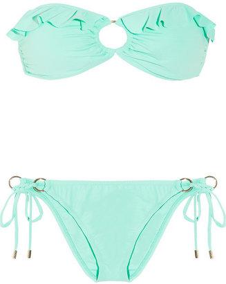 Melissa Odabash Greece bandeau bikini