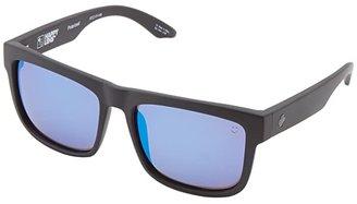 Spy Optic Discord (Matte Black/Happy Bronze Polar w/ Blue Spectra) Sport Sunglasses