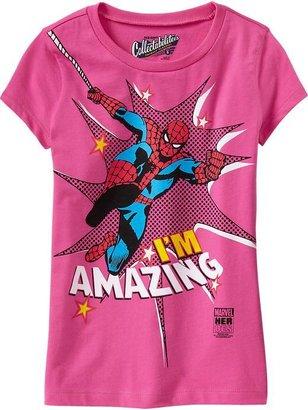 "Spiderman Girls Marvel ""I'm Amazing"" Spider-Man™ Tees"
