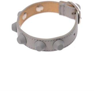 Balenciaga Rubber studded leather bracelet